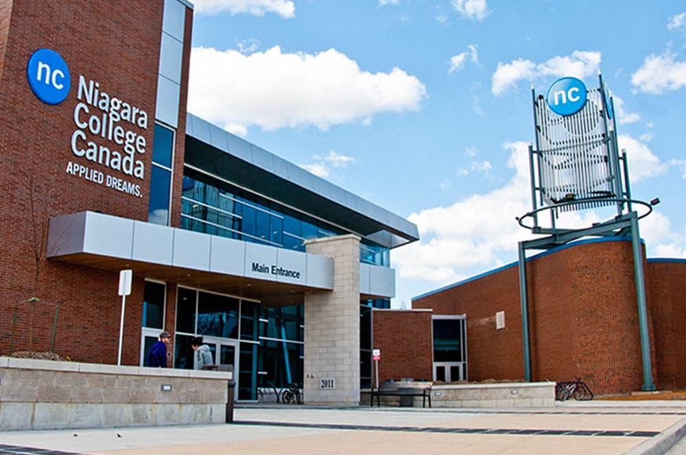 Niagara College Front Entrance